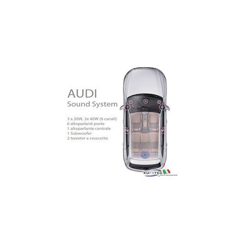 Audi Sound System Q5 by Audi Sound System Upgrade Audi Q5 8r Navistore