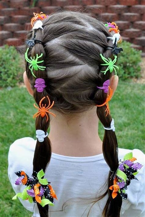 how to do halloween hairstyles 20 crazy scary halloween hairstyle ideas for kids