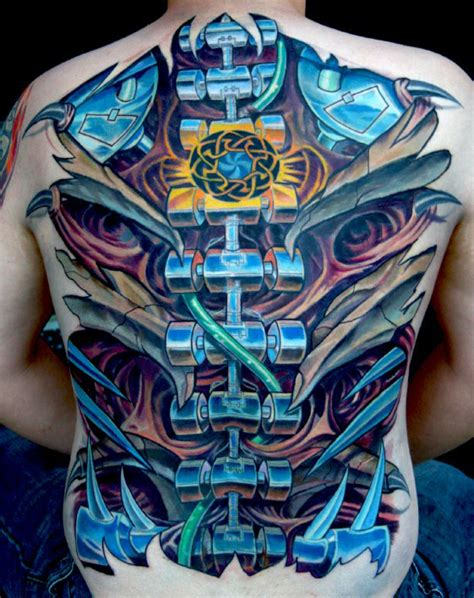 full effect tattoo 75 spine tattoos for masculine ink design ideas