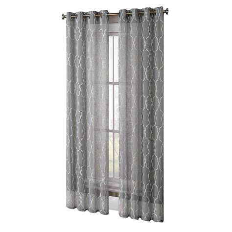 extra wide linen curtains window elements wesley faux silk extra wide 96 in l