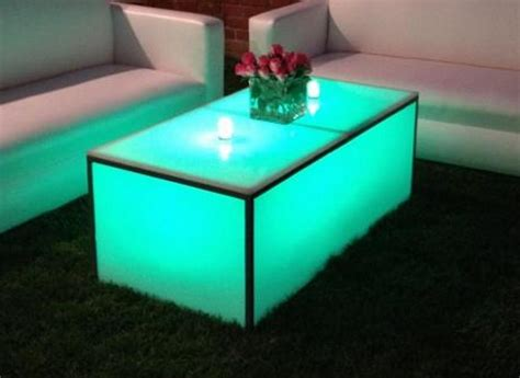 Light Up Coffee Table by Lounge Furniture