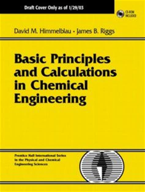 chemical engineering books free chemical elibrary free engineering books basic principles