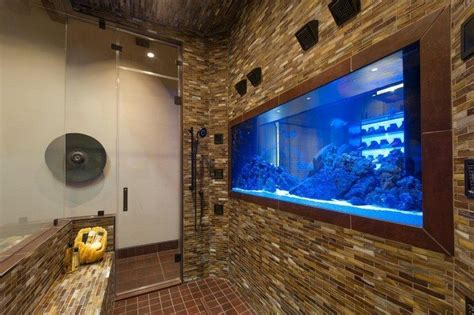 Round Stone Bathtub Transform The Way Your Home Looks Using A Fish Tank