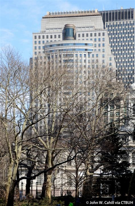 Fed Office by Federal Office Building At Foley Square The Skyscraper