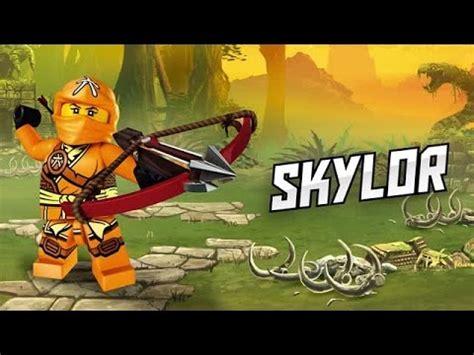 ninjago skylor official video character youtube