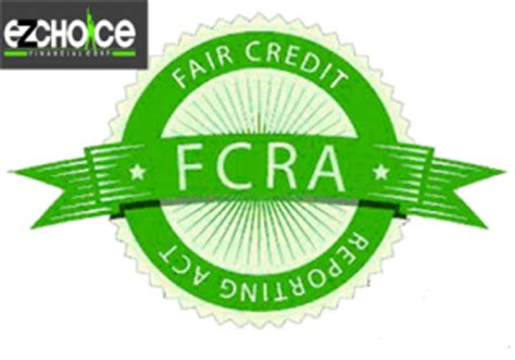 Fair Credit Reporting Act 15 Usc Section 1681 by The Fair Credit Reporting Act Credit Repair By Ez Choice