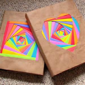 How To Make Paper Book Covers - 10 diy book cover ideas craft paper scissors