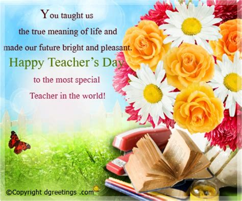 day special messages greeting card teachers day messages teachers day