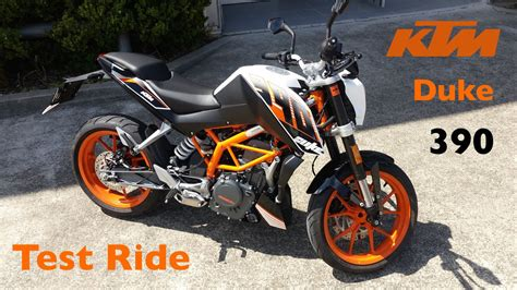 Ktm Duke 390 Test Ktm Duke 390 Test Ride Brilliant Lightweight