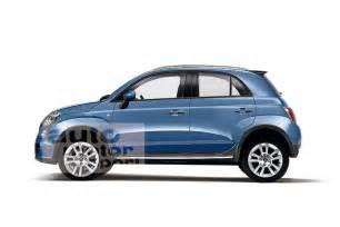 Fiat 500x 2014 New 2014 Fiat 500x