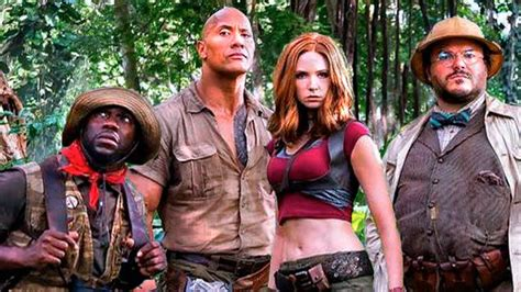 movie after jumanji go behind the scenes of jumanji 2 welcome to the jungle
