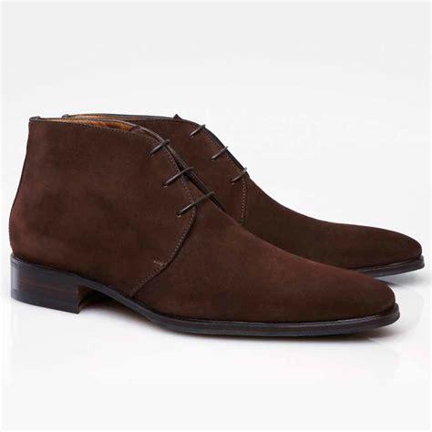 brown chukka boots stemar firenze suede chukka boots brown