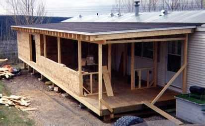 building a mobile building onto a mobile home search homes