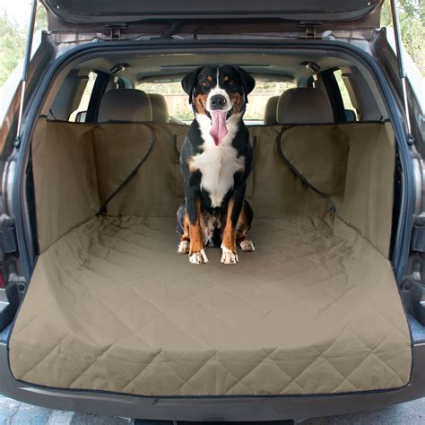 cargo mat for pets cargo cover extended suv pet cargo liner with quilted