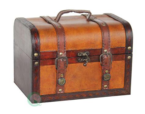 small wooden treasure chest boxes decorative wood leather treasure box small trunk chest ebay