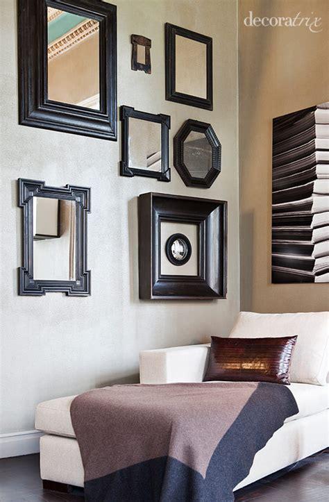 cuadros con espejos nuevas formas de colgar cuadros y espejos