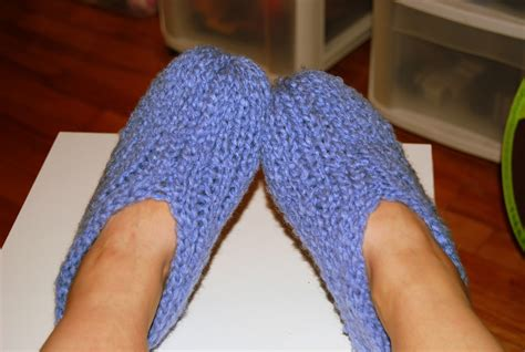 Gt Loom Knitting Slippers Tricotiner Des Pantoufles The