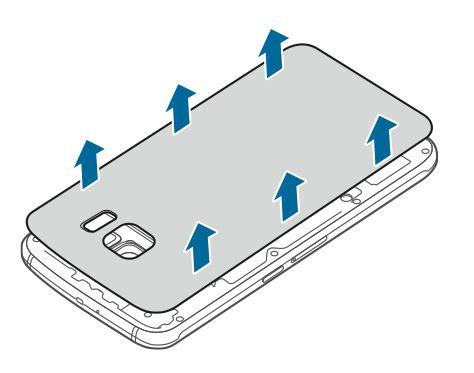 Handphone Samsung Buka Tutup how to remove replace samsung galaxy s6 battery official