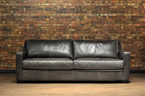 Leather Sofa Genuine Canadian Leather Sofa Made For You