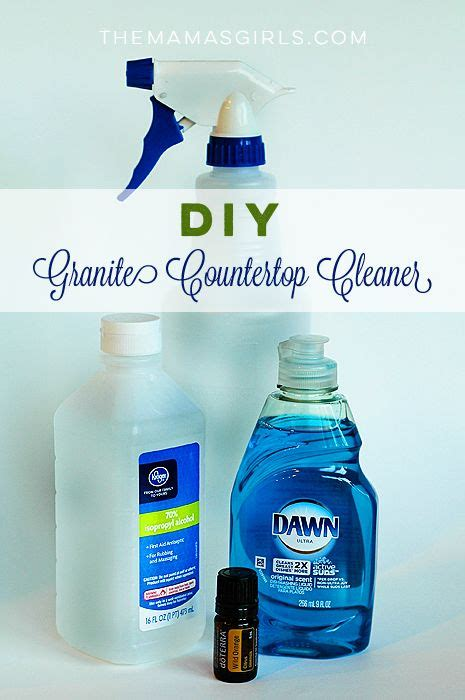 how to clean marble countertops diy diy granite countertop cleaner recipe granite