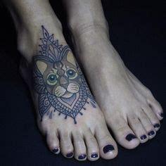 cat tattoo piercing specials cat mandala tattoo tatts piercings pinterest