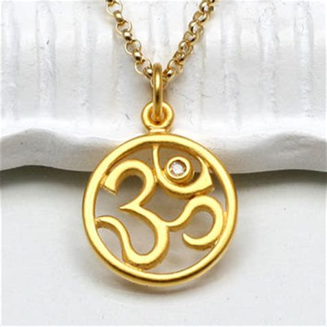 best gold om pendant products on wanelo
