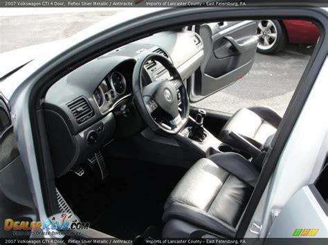 2007 Gti Interior by Anthracite Interior 2007 Volkswagen Gti 4 Door Photo 8