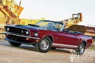 1969 ford mustang gt convertible quarter century club