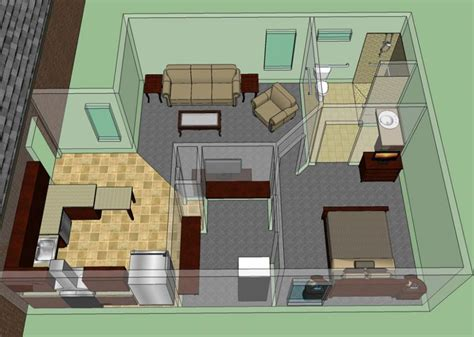 apartments home plans with in suites in