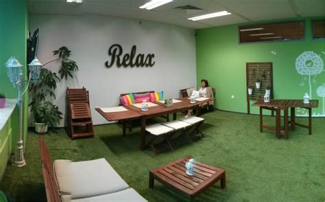 new relax zones in the offices of telus international
