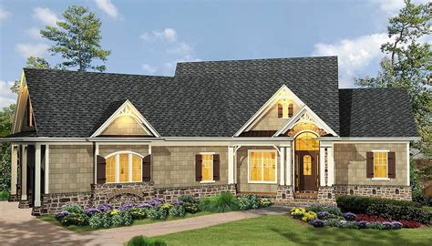 affordable ranch house plans affordable gable roofed ranch home plan 15885ge