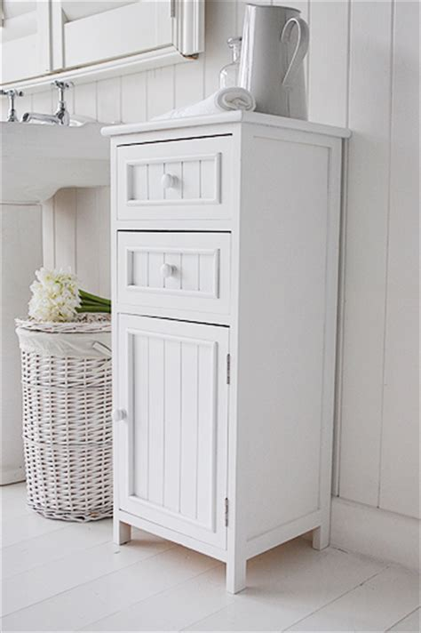 Bathroom Cabinets With Drawers by Maine Bathroom Cabinet With 2 Drawers And Cupboard For Storage