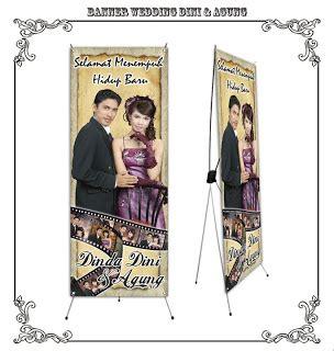 Wedding X Banner by Jecky Ardiansyah