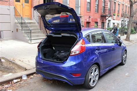 sporty  ford fiesta st ups power  remaining conveniently compact ny daily news