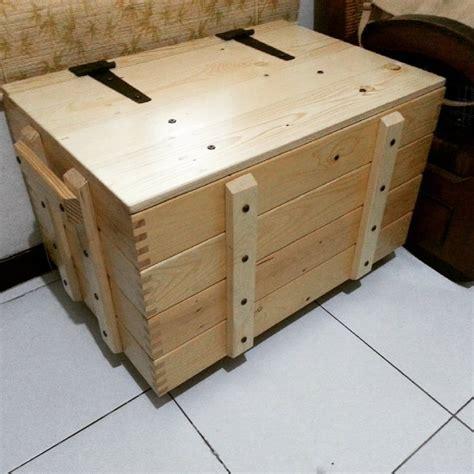 jual kotak peti kayu solid pinus jati belanda