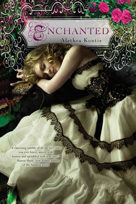 enchanting books ftf book review alethea kontis enchanted sff book reviews