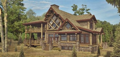unique log home plans chambeau log homes cabins and log home floor plans