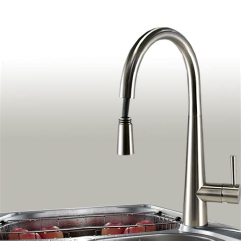 brushed nickel faucets kitchen brushed nickel pull out kitchen faucet in usa and canada