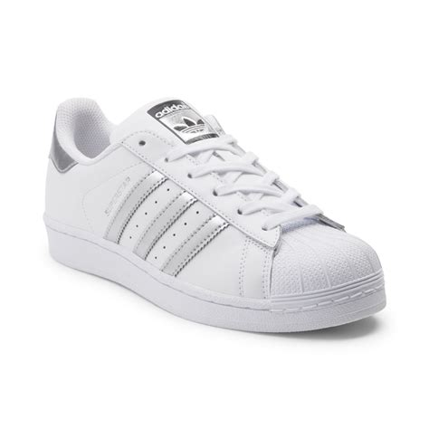 white athletic shoes womens womens adidas superstar athletic shoe white 436265