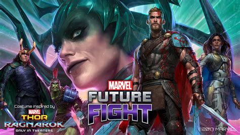 film thor pemain up marvels thor ragnarok hadir di marvel future fight