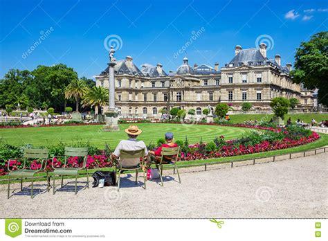 giardini lussemburgo il palazzo ai giardini di lussemburgo parigi francia