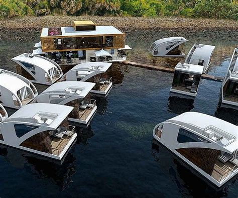 floating hotel with catamaran apartments by salt water floating catamaran hotel in 2018 hotels pinterest