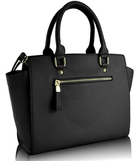 Handbag Tote Bag Black wholesale black grabtote handbag