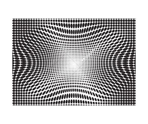 optical pattern vector hypnotic optical illusion halftone backgrounds vector pack