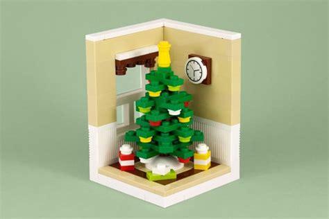 how to make a lego christmas tree lego tree is for blockheads technabob