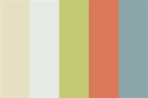 muted color palette muted orange color palette