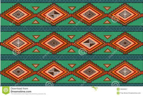 ethno muster abstraktes gezeichnetes ethno muster stammes