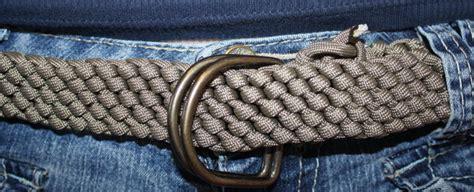 Easy Macrame Belt Patterns - easy woven paracord belt