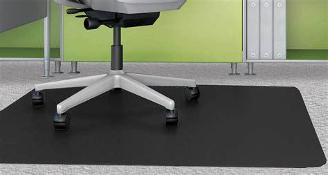 custom size desk mat black chair mats for low pile carpets 36 quot x 48
