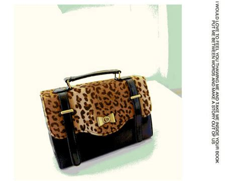 Tas Fashion Hobo Import Sale Promo b680 leopard promo tas fashion